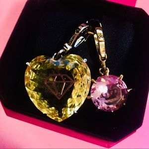 NWT Juicy Couture crystal charm crown